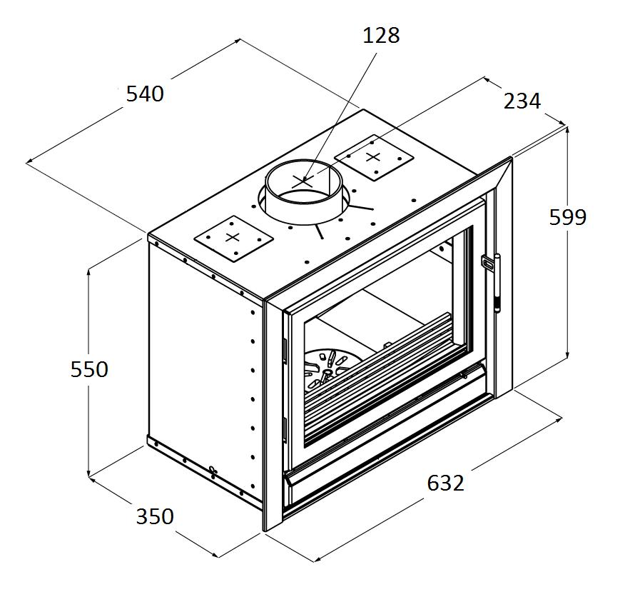 Riva 50 - Dimension Guide