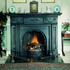 The William IV Cast Iron Mantel