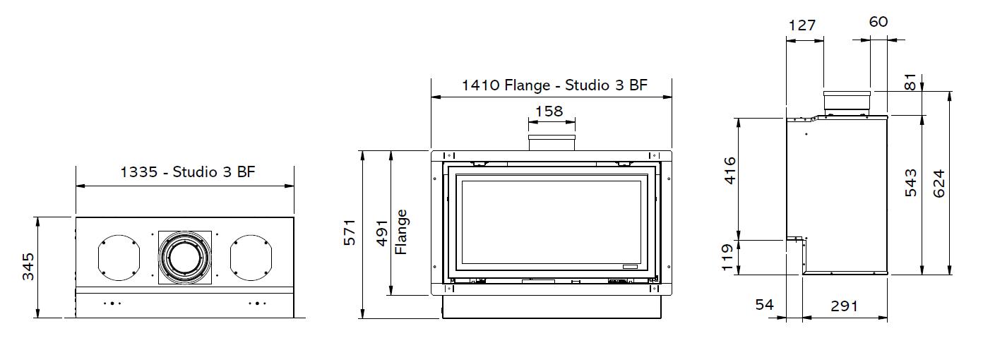 Studio 3 (Balanced Flue)