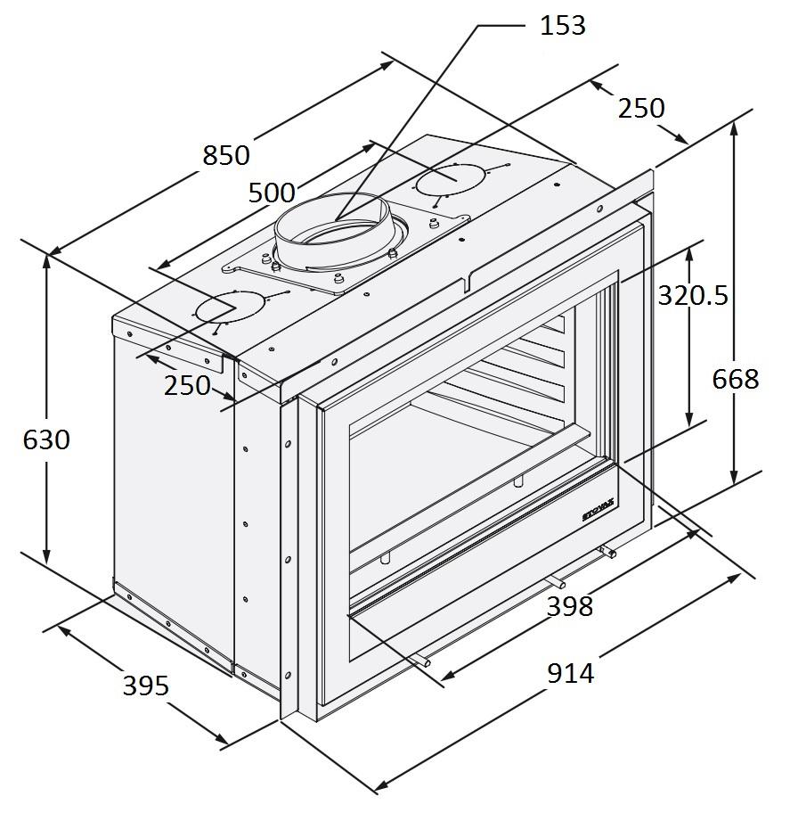 Dimension Guide - Elise 850