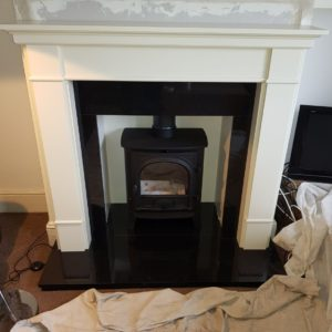 Stove Installation - Stage IV