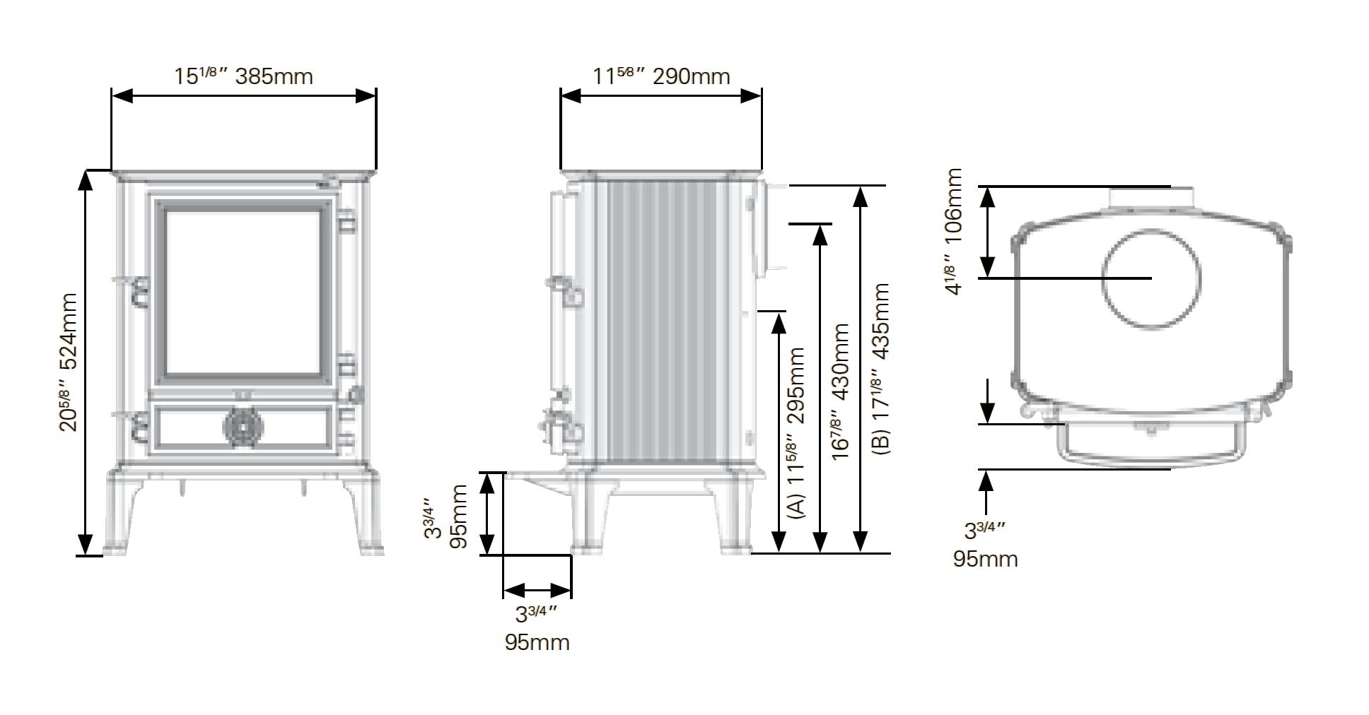 Brunel 1A - Dimension Guide
