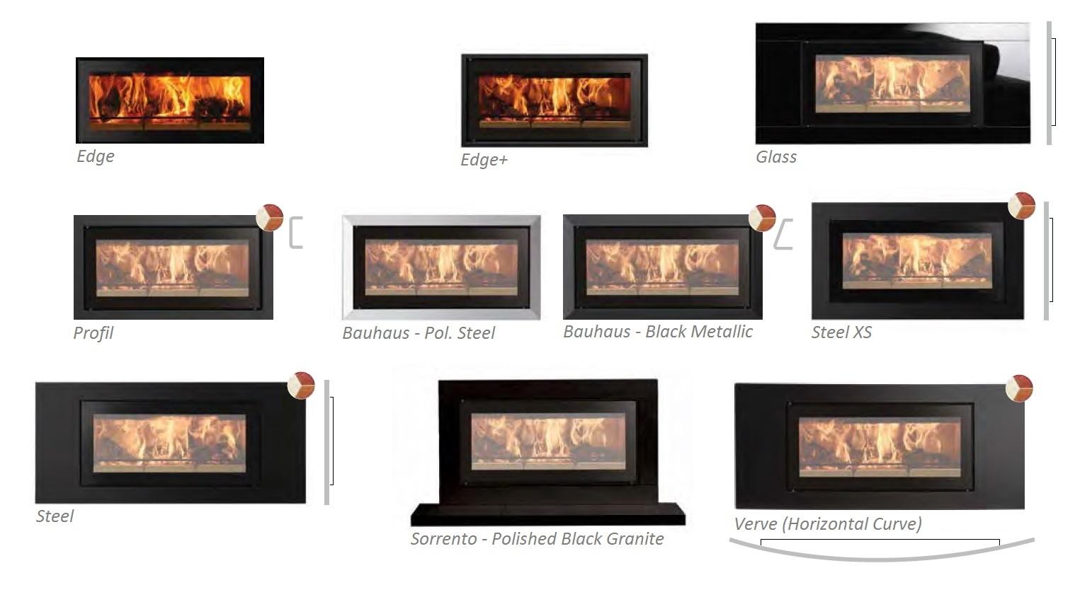 Studio 500 - Stovax Frames