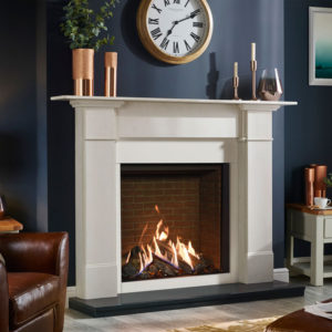 Gas Fires - Inset