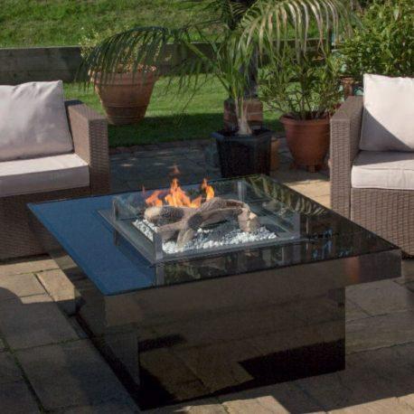 Blaze – Outdoor Gas Fire (Garden Centre Table)