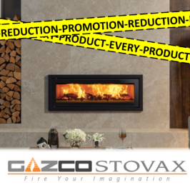 GAZCO & STOVAX PRICE REDUCTION