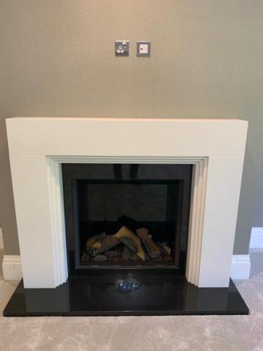 Bespoke Fireplace (Aztec Inspired) - Reflex 75T