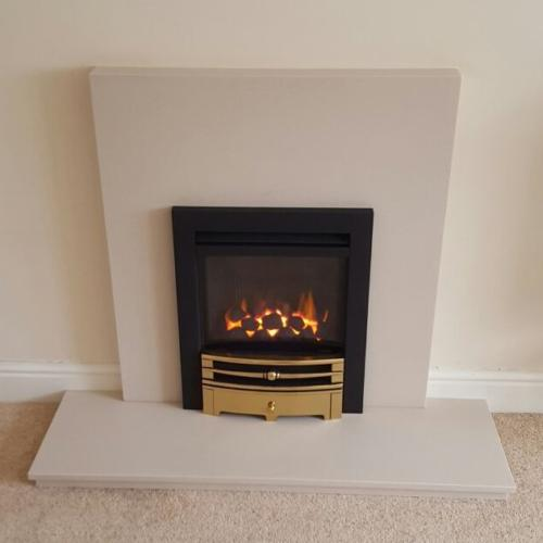 Custom Fireplace - Logic HE (Chartwell Front)