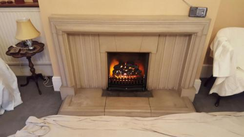 Electric Inset Fire (Reusing Client's existing Fireplace) 2