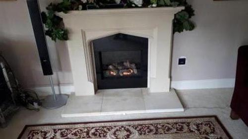 Riva2 500; Retrofitted to Client's Fireplace