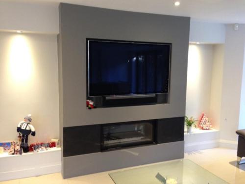 Studio 1 - Granite Chheks (TV Above)