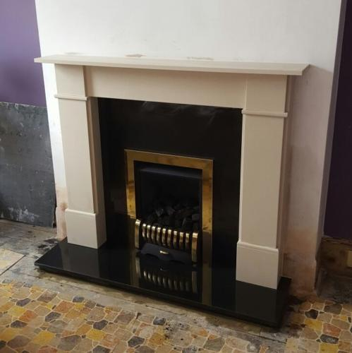 The Flat Victorian - Vantage; Traditional Brass Front