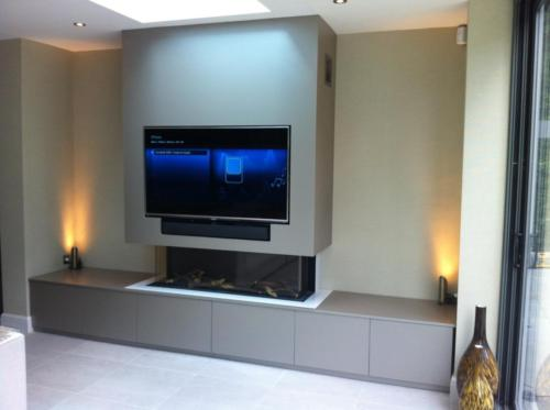 Trisore 140MKII - Whole Wall Unit (TV Above)